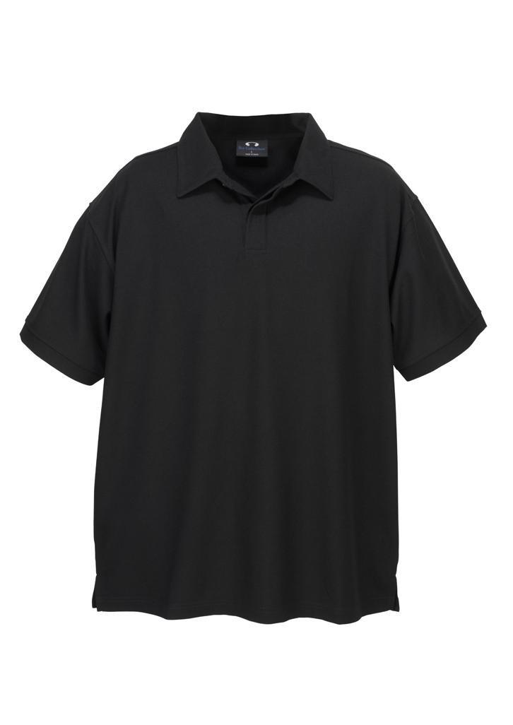 Mens Bizcool Micro Waffle Polos Clothing Direct Au
